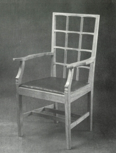 Edward Barnsley chair - Bedales