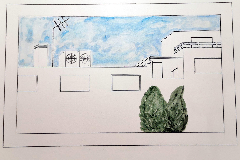 Matilda (Alejandra-Matilde) Celma Rodriguez-Fonseca - drawing window