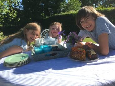 Badley Day tea - David Anson's children